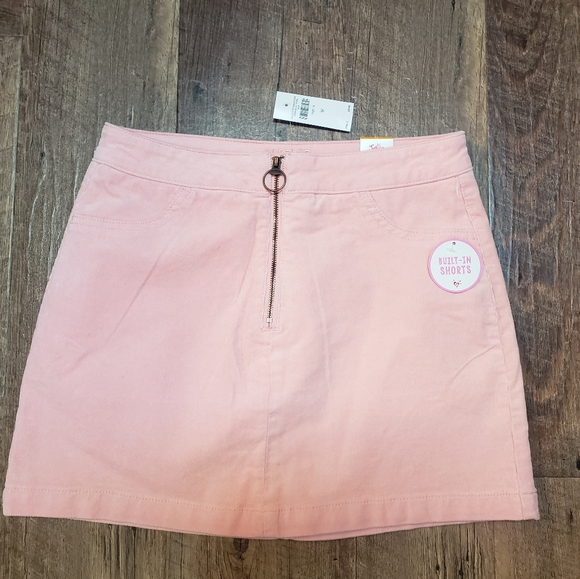 Justice Other - NEW!!! Girls Justice pink corduroy skirt